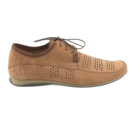 Pánská sportovní obuv Riko 694 světle hnědá hnědý