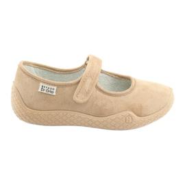 Hnědý Befado dámské boty mladé 197D004