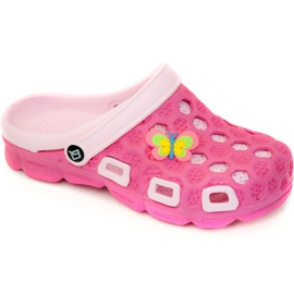 Růžový Pantofle Aqua-speed Hawaii Jr. col