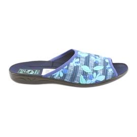 Dámské pantofle s květinami Adanex 23863