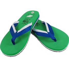Pantofle 4F M H4L19 KLM002 41S zelená