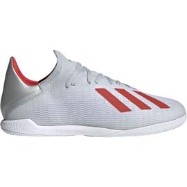 Sálová obuv adidas X 19.3 In M F35370 bílá bílá