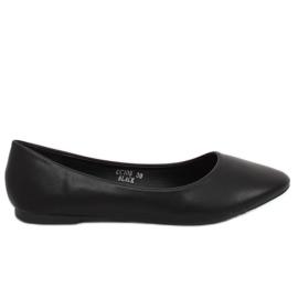 Černé dámské baleríny CC108 Black černá