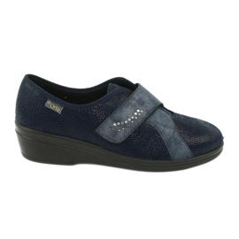 Modrý Dámské boty Befado pu 032D001