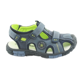 American Club Dětské sandály s americkou koženou vložkou DR02