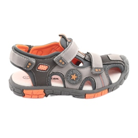 American Club Sandalka boty s americkou koženou vložkou DR02