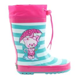 American Club Americké děti déšť boty Kotě