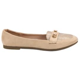 Top Shoes Stylová baletka hnědý