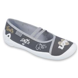 Šedá Dětská obuv Befado 116Y259