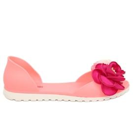 Růžový Ballerina meliski růžová W-13 Pink