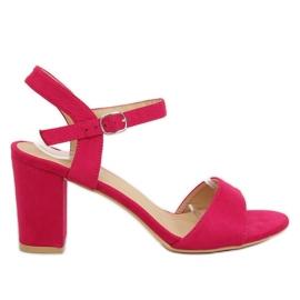 Růžový Sandály na fuchsii FH-3M25 Fuchsia