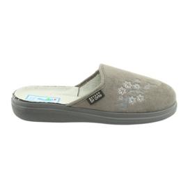 Šedá Befado dámské boty pu 132D013