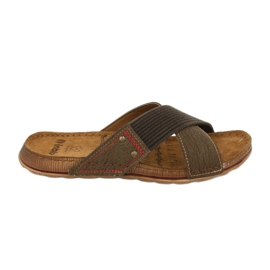 Hnědý Pánská obuv Inblu GG009 hnědá