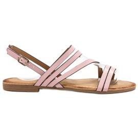 Primavera růžový Klasické růžové sandály