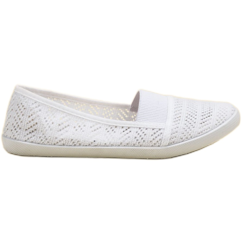 Mckeylor bílá Textilní balerína