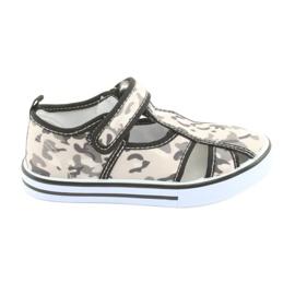 Dětská obuv American Club s koženou vložkou na suchý zip