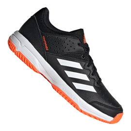 Boty Adidas Court Stabil Jr F99912 černá černá
