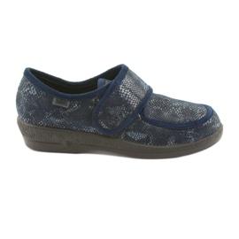 Befado dámské boty pu 984D015 válečné loďstvo
