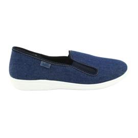 Modrý Befado obuv pro mladé pvc 401Q018