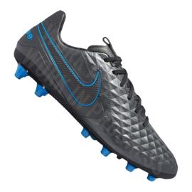 Fotbalová obuv Nike Legend 8 Pro AG-Pro M AT6137-004 černá šedá