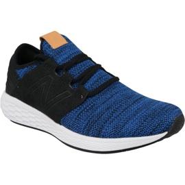 Modrý Běžecká obuv New Balance Fresh Foam Cruz v2 M MCRUZKR2 modrá
