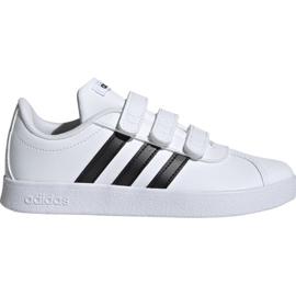Boty Adidas Vl Court 2.0 Cmf C bílá Jr. DB1837