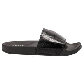 Small Swan černá Dámské pantofle pro volný čas