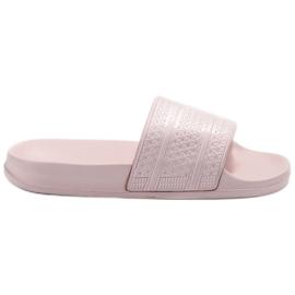Vices růžový Pohodlné pantofle