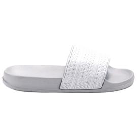 Vices šedá Pohodlné pantofle