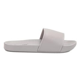 Seastar šedá Šedé pantofle