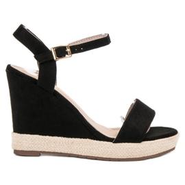 Seastar černá Černé sandály