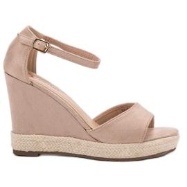 Seastar hnědý Sandály