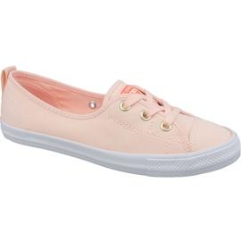 Oranžový Converse Chuck Taylor All Star baletní krajka Slip 564313C oranžové boty