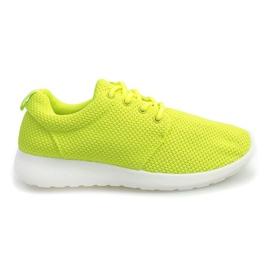 Sportovní tenisky D016 Yellow žlutý