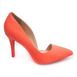 Oranžový Suede Pins 4006 Orange