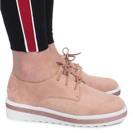 Růžový Růžové boty Odessa