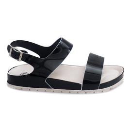 Klasické sandály 6610 Black černá