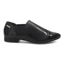 Klasické Slip-On boty TL1165-1 černá