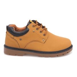 Hnědý Klasické boty Kotníkové boty JX-20 Camel