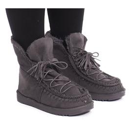 Správně zahřáté boty R148 Šedá