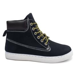 Černá Sportovní boty 991 Black