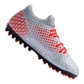 Kopačky Puma Future 4.4 Mg Jr 105697-01 červená, šedá / stříbrná šedá