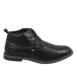 Černá Černé pánské boty 9W-BK86417