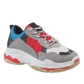 Černá módní sportovní obuv D1901-L65 vícebarevný