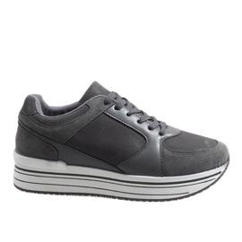 Šedá sportovní obuv 6261