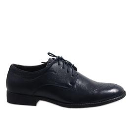 Válečné loďstvo Tmavě modrá elegantní obuv D181502B
