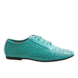 Mint prolamované jazzové boty Oxford 3