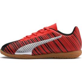 Kopačky Puma One 5.4 It Jr 105664 03 červená černá, červená