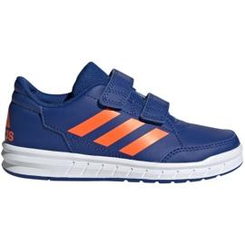Modrý Boty adidas Altasport Cf K navy oranžová Jr G27086