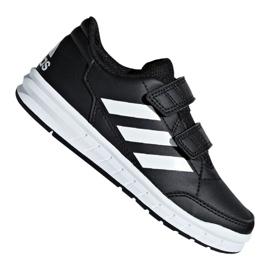 Černá Boty Adidas AltaSport Cf Jr D96829